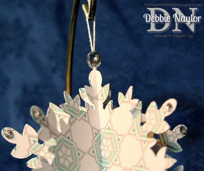 Unfrogettable Stamping Fabulous Snowflake 1b