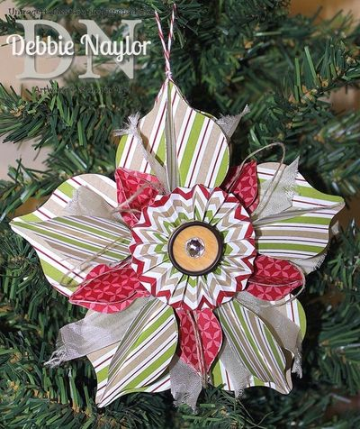 Unfrogettable Stamping |  Fabulous Friday ornament 2013-11-08