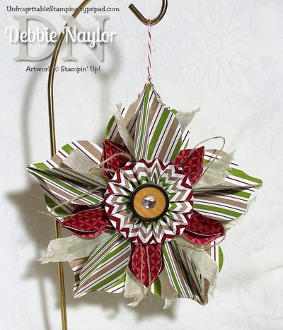 Unfrogettable Stamping | Fabulous Fridayornament  2013-11-08