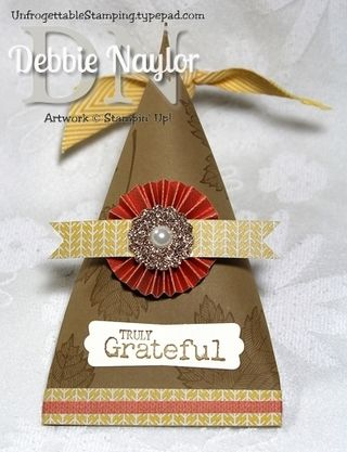 Unfrogettable Stamping | Fabulous Friday Thanksgiving Favor 2013-11-15