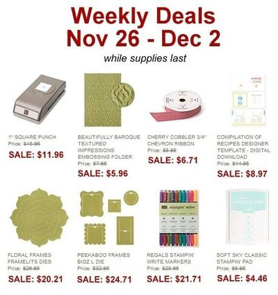 Unfrogettable Stamping | Stampin' Up! Weekly Deal Nov 26-Dec 2