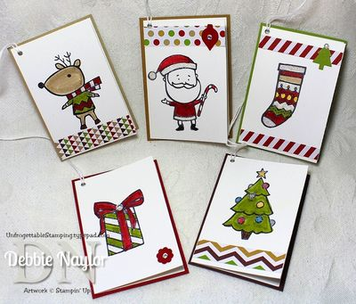 Unfrogettable Stamping | Fabulous Friday gift tags 2013-11-29