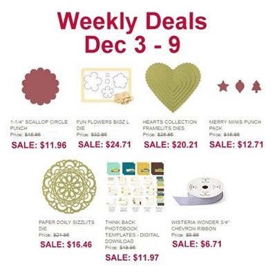 Unfrogettable Stamping | Weekly Deal Dec. 3-9