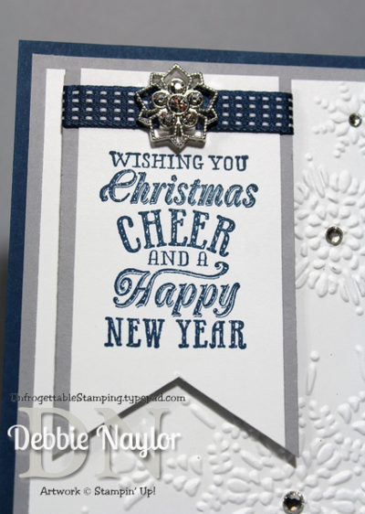 Unfrogettable Stamping | Fabulous Friday snowflake card