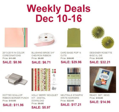 Unfrogettable Stamping | Weekly Deals Dec 10-16