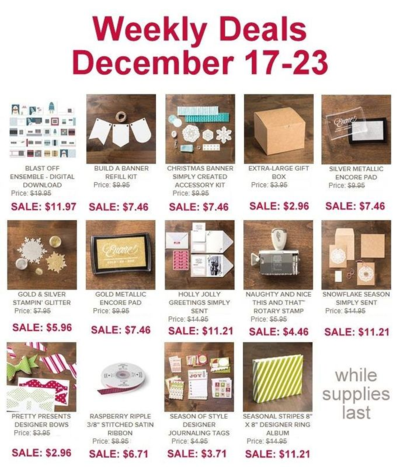 Unfrogettable Stamping | Weekly Deal Dec 17-23