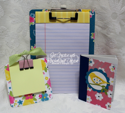 Unfrogettable Stamping | Week 12 Altered Office Supplies Set