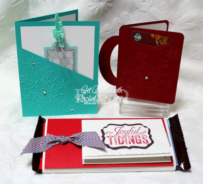Unfrogettable Stamping | Week 11 Gift Card trio tutorial