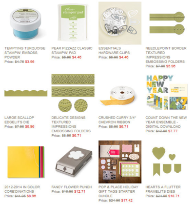 Unfrogettable Stamping | Weekly Deal 12-24-2013