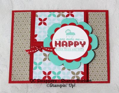 UnfrogettableStamping | Sharon Burkert swap card