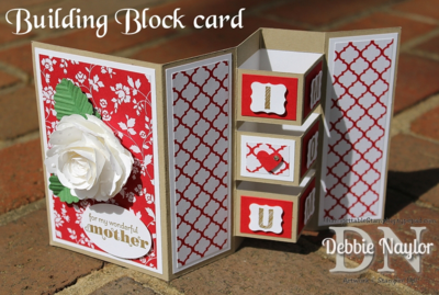 Unfrogettable Stamping | Fabulous Friday Building Block Mother's Day card 2014-05-02