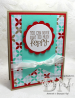 Unfrogettable Stamping | Quick & Easy Happy card video tutorial 2014-05-20
