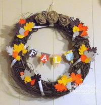 Unfrogettable Stamping | 2013 Week 2 Fall Wreath tutorial