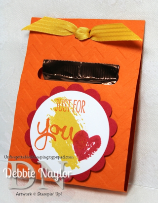 Unfrogettable Stamping | Work of Art chocolate favor