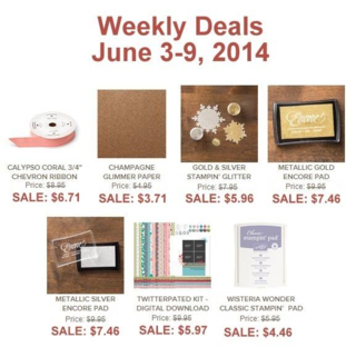 Unfrogettable Stamping | Weekly Deals for June 3-9, 2014