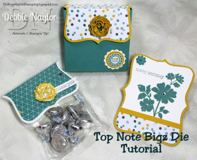 Unfrogettable Stamping | Top Note bigz die tutorial June 2014