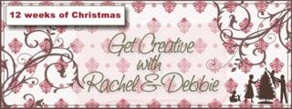 Unfrogettable Stamping | Get Creative with Rachel & Debbie 2011 Twelve Weeks of Christmas tutorials