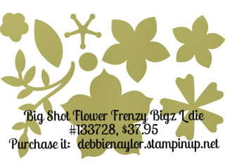 Unfrogettable Stamping | Big Shot Flower Frenzy Bigz L die