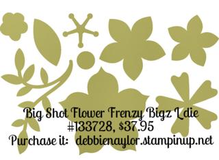 Unfrogettable Stamping | Big Shot Flower Frenzy Bigz L die