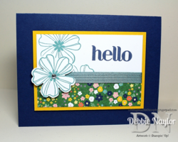 Unfrogettable Stamping | 2014-07-22 QE Hello Flower Shop card