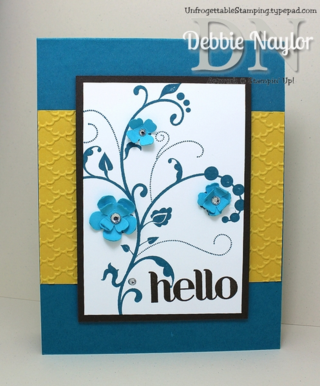 Unfrogettable Stamping | Fabulous Friday cQc253 card