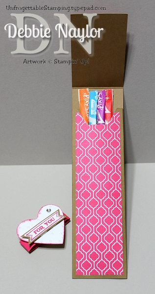 Unfrogettable Stamping | Fabulous Friday candy favor 2014-01-17