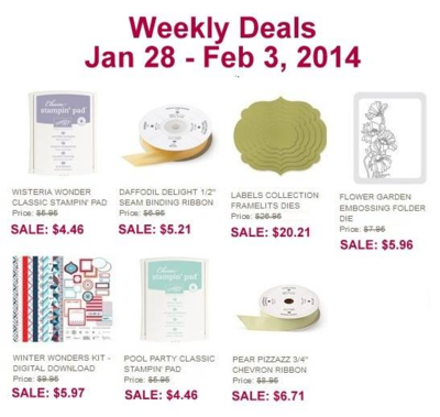 Unfrogettable Stamping | Weekly Deal 2014-01-28