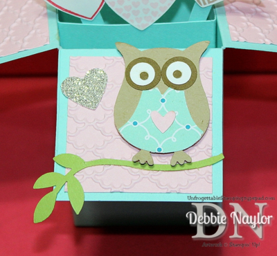 Unfrogettable Stamping | Fabulous Friday Valentine's Day pop up card 2014-02-14