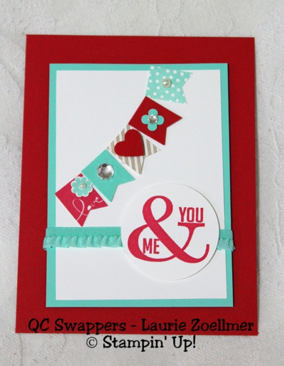 UnfrogettableStamping | Laurie Zoellmer swap card