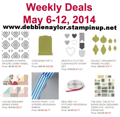 Unfrogettable Stamping | Stampin' Up! Weekly Deal for May 6-12, 2014