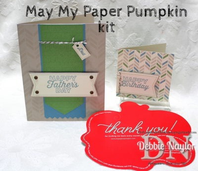 Unfrogettable Stamping | May Paper Pumpkin kit 2014 - great for all of your masculine cards and just in time for Father's Day!