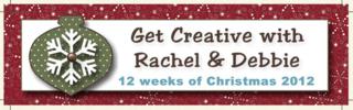 Unfrogettable Stamping | Get Creative with Rachel & Debbie 2012 Twelve Weeks of Christmas tutorials