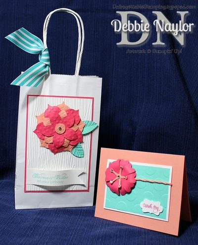 Unfrogettable Stamping Fabulous Friday Wish Big Flower Frenzy gift set