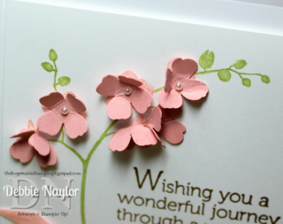 Unfrogettable Stamping | Quick & Easy World of Dreams card