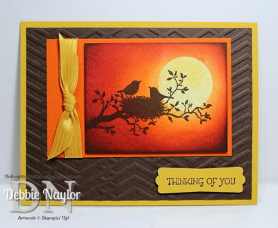 Unfrogettable Stamping | Fabulous Friday World of Dreams sponged card