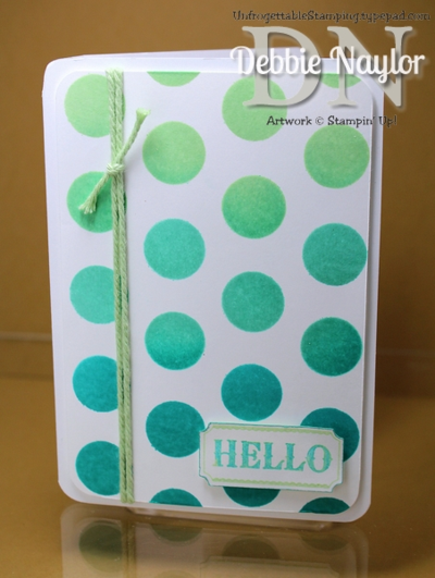 Unfrogettable Stamping | QE Label Something Ombre card 2014-07-09