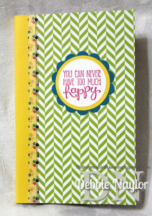 Unfrogettable Stamping | Altered calendar planner