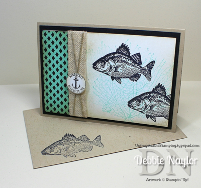 Unfrogettable Stamping | QE By The Tide masculine card 2014-07-29