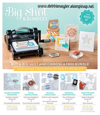 Unfrogettable Stamping | Big Shot Bundle promotion for August