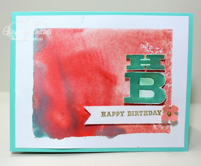 Unfrogettable Stamping | Birthday card by Gaylyn Pantana
