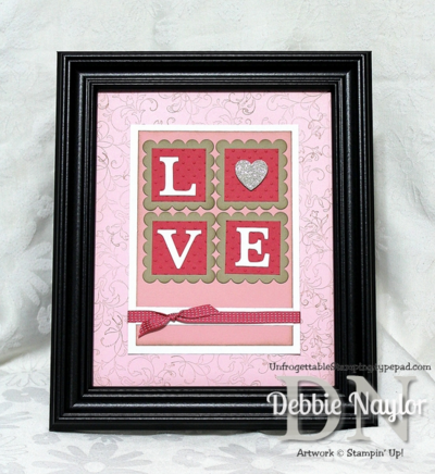 Unfrogettable Stamping | Fabulous Friday CQC #226 Love frame 2014-01-31
