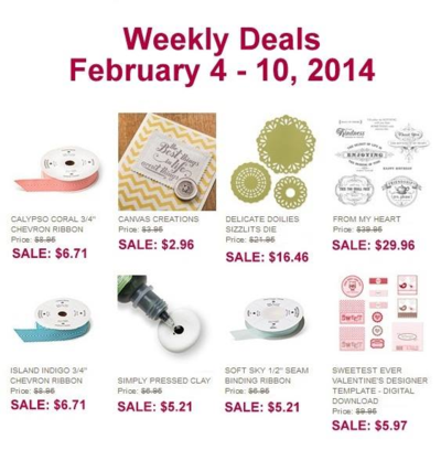 Unfrogettable Stamping | Weekly Deal 2-4-2014 through 2-10-2014