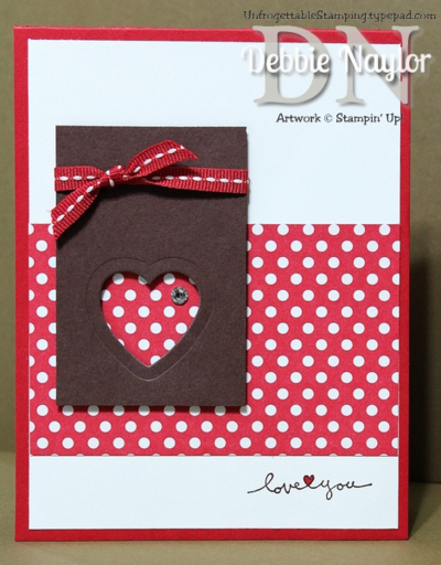 Unfrogettable Stamping | FMS122 Love You card 2014-02-09