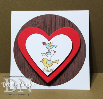 Unfrogettable Stamping | Valentine's card 2014-02-15