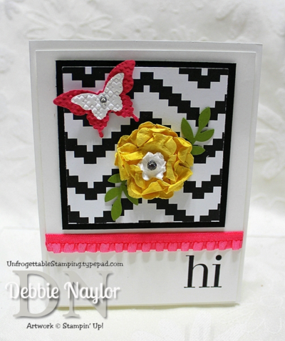 Unfrogettable Stamping | Fabulous Friday Spring card 2014-04-04