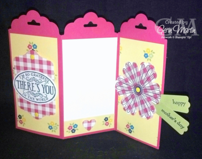 Unfrogettable Stamping | Fabulous Friday guest designer Gerin Martin's Mother's Day 2014-05-02