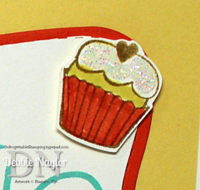 Unfrogettable Stamping | Quick & Easy birthday card cupcake embellishment