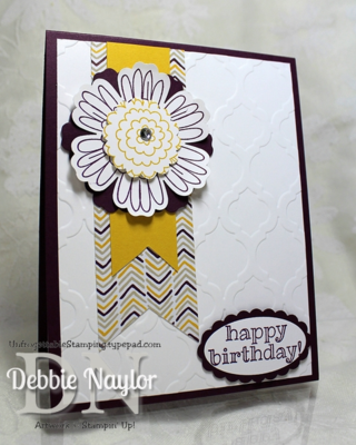 Unfrogettable Stamping | Birthday card featuring So Very Happy stamp set