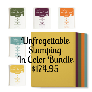 Unfrogettable Stamping | In Color bundle