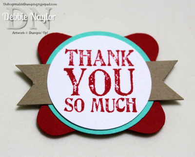 Unfrogettable Stamping | Stampin' Up! Work of Art thank  you cards